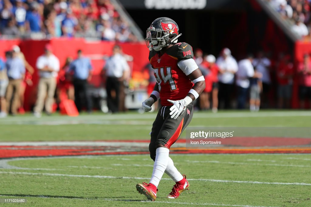 NFL: SEP 22 Giants at Buccaneers : Nachrichtenfoto