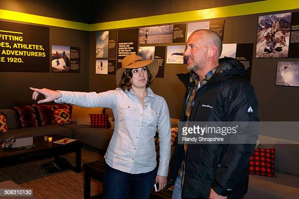 Mike Egeck Eddie Bauer President and CEO attends the Eddie Bauer Adventure House during the 2016 Sundance Film Festival at Village at The Lift on...