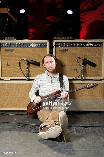 Mike Einziger lead guitarist of American rock band Incubus photographed during a portrait shoot for Total Guitar Magazine/Future via Getty Images...