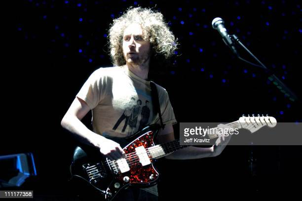 Mike Einzinger of Incubus during Incubus Secret Preview Concert at Stage 12 at Sony Studios in Culver City California United States