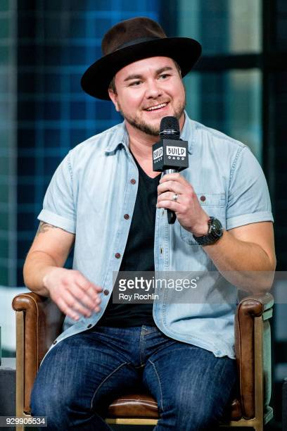 Mike Eli of Eli Young Band discusses 'Fingerprints' with the Build Series at Build Studio on March 9 2018 in New York City