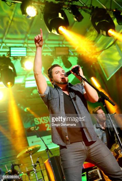 Mike Eli of Eli Young Band performs onstage at the Pandora Party during 2017 SXSW Conference and Festivals at The Gatsby on March 13 2017 in Austin...