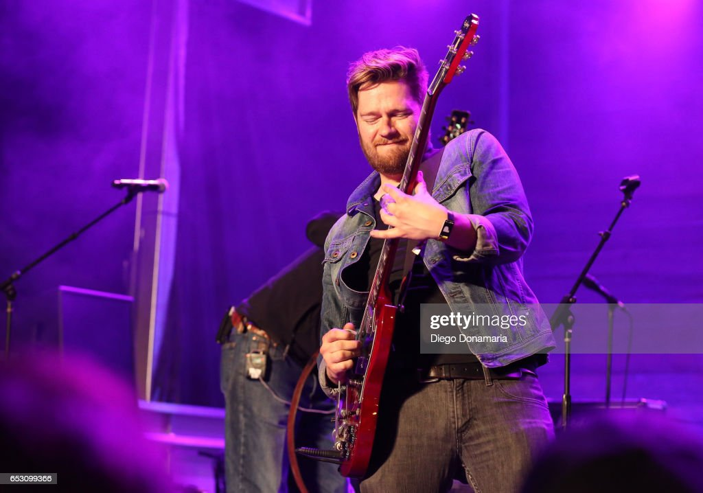 Mike Eli of Eli Young Band performs onstage at the Pandora Party during 2017 SXSW Conference and Festivals at The Gatsby on March 13, 2017 in Austin, Texas.