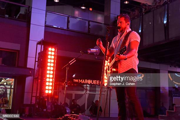Mike Eli of the Eli Young Band performs at 4th Street Live on August 5 2016 in Louisville Kentucky