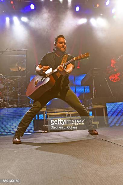 Mike Eli of the Eli Young Band performs at Mercury Ballroom on December 9 2017 in Louisville Kentucky