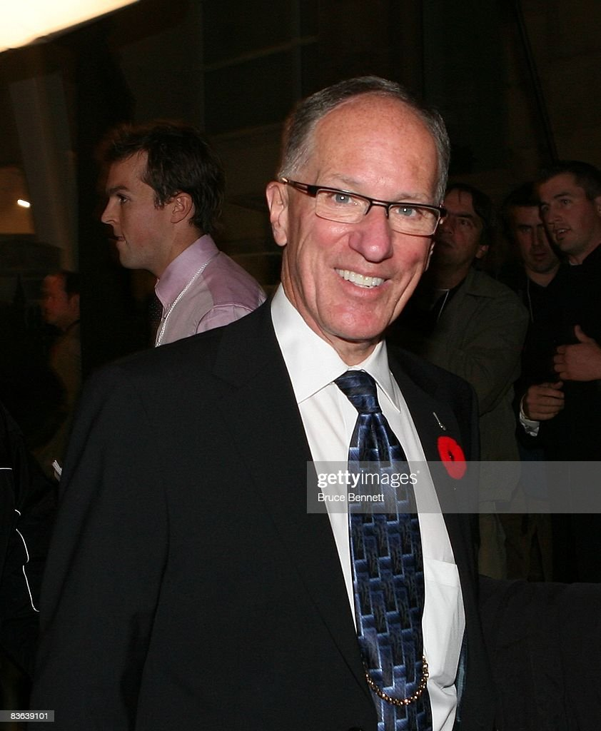 Hockey Hall of Fame Induction : News Photo