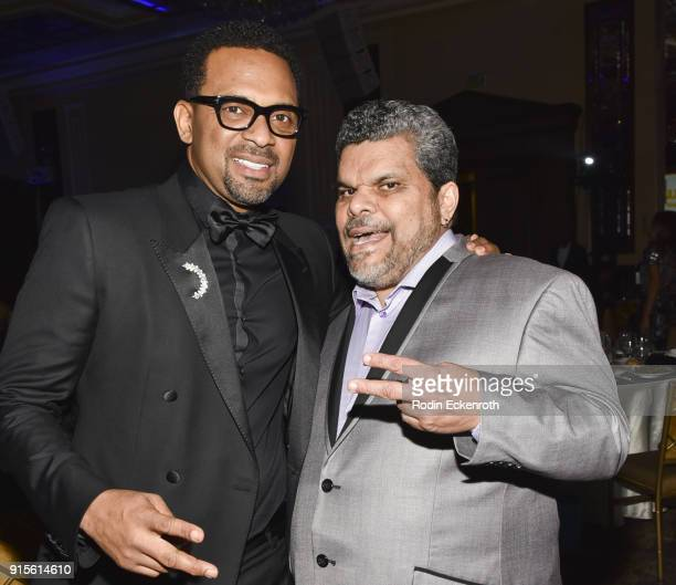 Mike Epps and Luis Guzman at the 9th Annual AAFCA Awards at Taglyan Complex on February 7 2018 in Los Angeles California