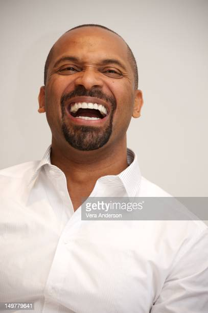 Mike Epps at the Sparkle Press Conference at the Four Seasons Hotel on August 3 2012 in Beverly Hills California