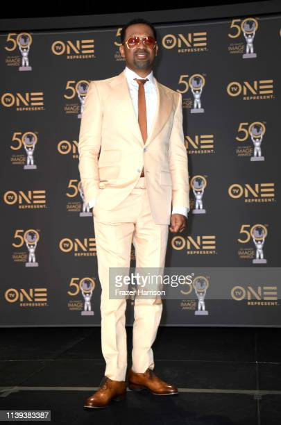 Mike Epps attends the 50th NAACP Image Awards at Dolby Theatre on March 30 2019 in Hollywood California