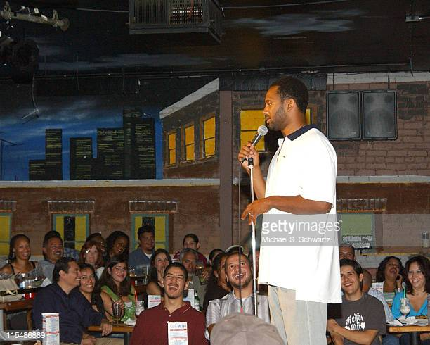 Mike Epps during Mike Epps Performs at The Ice House Hosted by Rudy Moreno - August 2, 2005 at The Ice House in Pasadena, California, United States.
