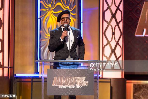 Mike Epps hosts the 2nd Annual All Def Movie Awards at Belasco Theatre on February 22 2017 in Los Angeles California