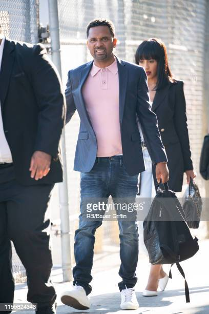 Mike Epps is seen at 'Jimmy Kimmel Live' on July 15 2019 in Los Angeles California