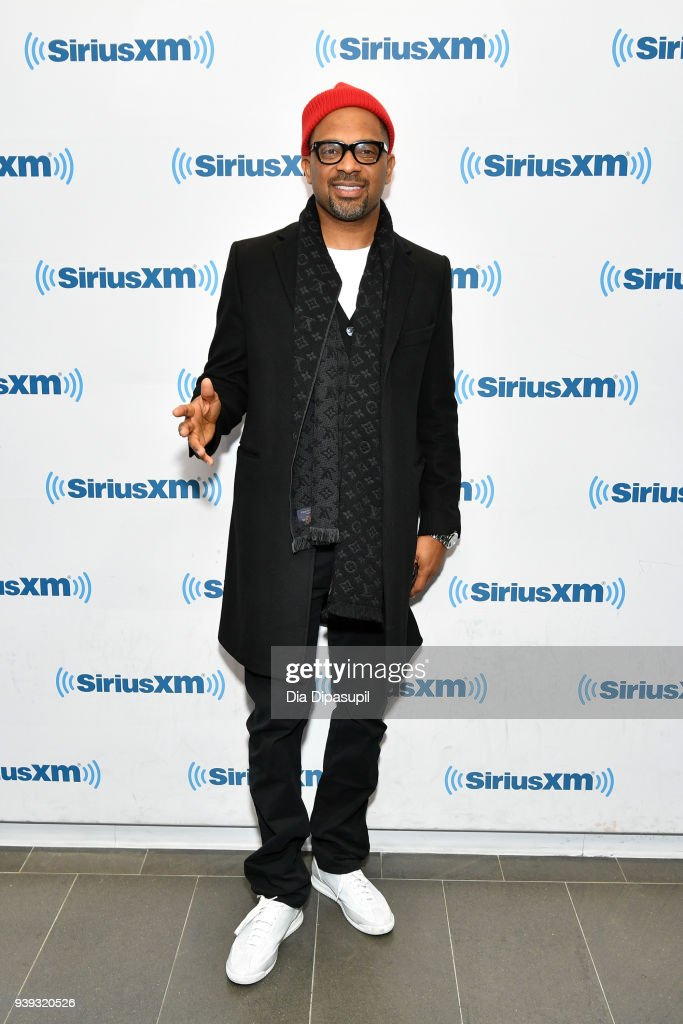 Mike Epps visits SiriusXM Studios on March 28, 2018 in New York City.