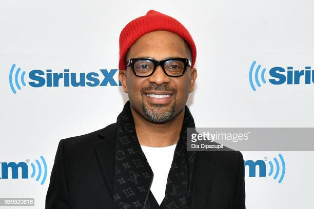 Mike Epps visits SiriusXM Studios on March 28 2018 in New York City
