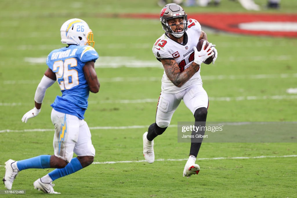 Los Angeles Chargers v Tampa Bay Buccaneers : News Photo