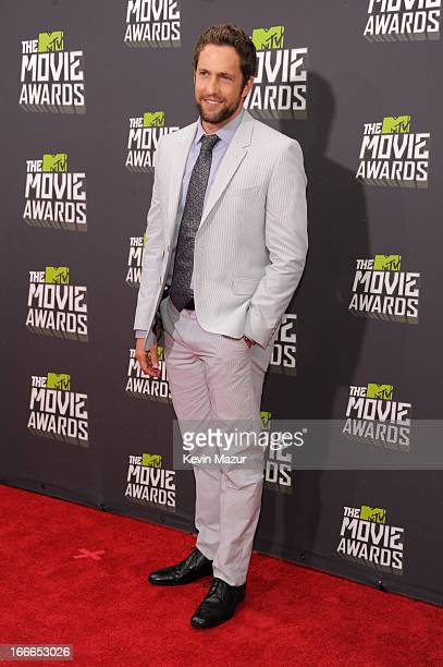 Mike Faiola arrives at the 2013 MTV Movie Awards at Sony Pictures Studios on April 14 2013 in Culver City California