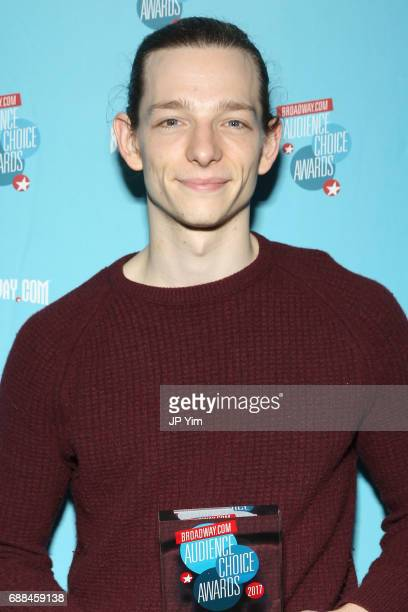Mike Faist attends the 17th Annual Broadwaycom Audience Choice Awards at 48 Lounge on May 25 2017 in New York City