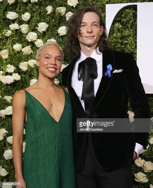 Mike Faist attends the 2017 Tony Awards at Radio City Music Hall on June 11 2017 in New York City