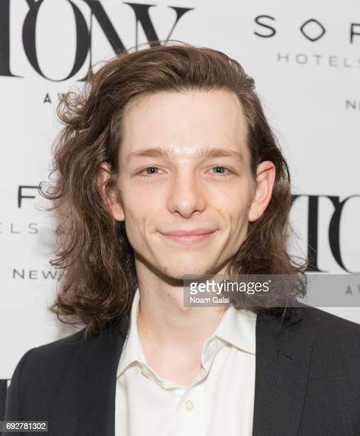 Mike Faist attends the 2017 Tony Honors cocktail party at Sofitel Hotel on June 5 2017 in New York City