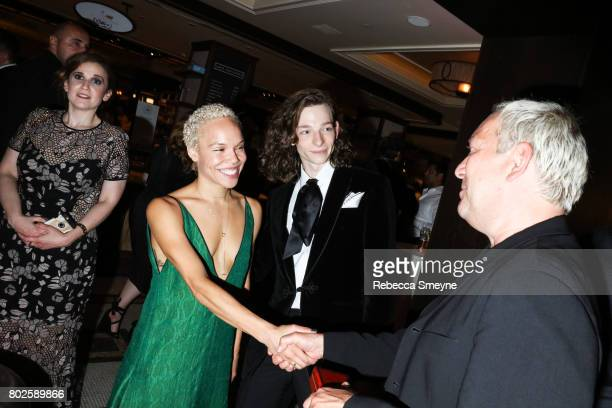 Mike Faist attends the official afterparty for the Tony Awards at the Plaza Hotel on June 12 2017 in New York City