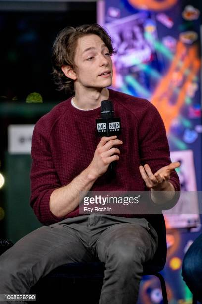 """Mike Faist discusses """"Days of Rage"""" with the Build Series at Build Studio on November 16, 2018 in New York City."""