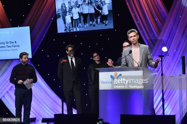 Mike Farah attends the Venice Family Clinic's 36th Annual Silver Circle Gal at The Beverly Hilton Hotel on March 19 2018 in Beverly Hills California