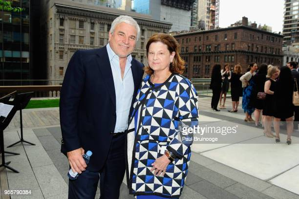 Mike Fascitelli and Anne Keating attend the 2018 Change Maker Awards at Carnegie Hall on May 7 2018 in New York City