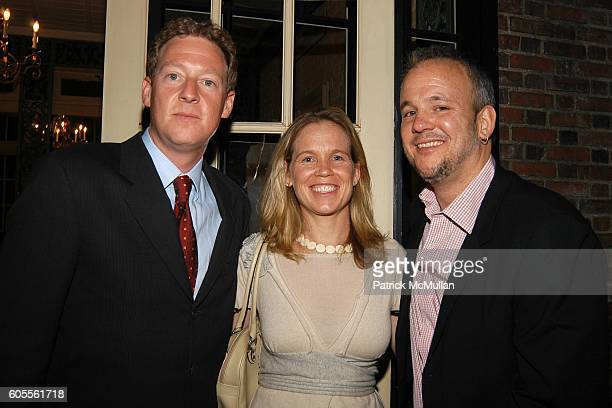 Mike Feldman Diana Rhoten and John Houtman attend Tina Brown and Harry Evans Hosts a dinner for Al Gore's Film and Book AN INCONVENIENT TRUTH about...
