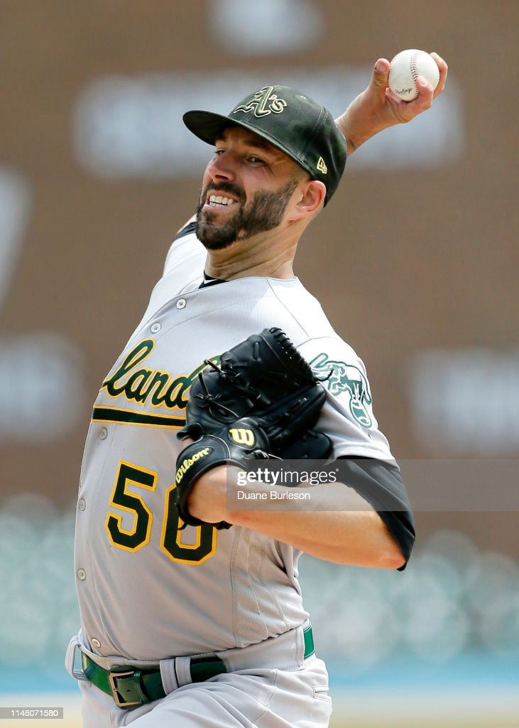 MI: Oakland Athletics v Detroit Tigers