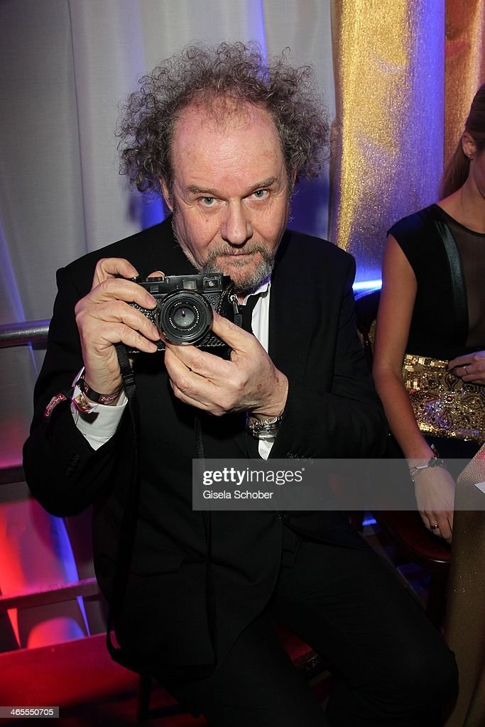 Mike Figgis, director, producer attends the Lambertz Monday Night at Alter Wartesaal on January 27, 2014 in Cologne, Germany.