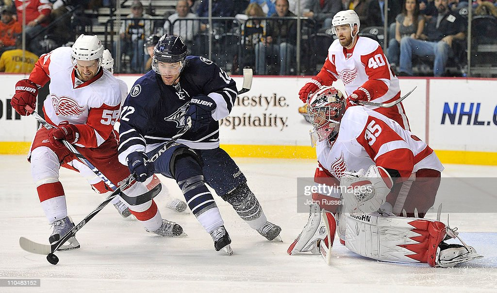 Detroit Red Wings v Nashville Predators : News Photo