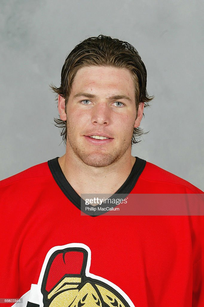 Mike Fisher of the Ottawa Senators poses for a portrait at Corel Centre on September 13, 2005 in Ottawa, Ontario, Canada .
