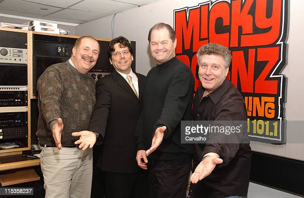 Mike Fitzgerald general manager of Palm West Chris Gilman Micky Dolenz and Bruce Goldberg producer