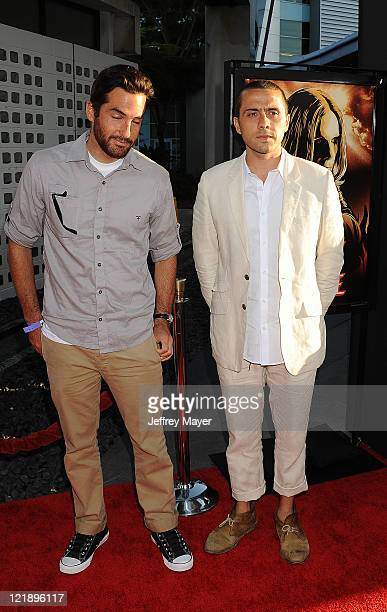 Mike Fleiss and Mike Piscitelli arrive at the Screening Of God Bless Ozzy Osbourne To Benefit The Musicares Map Fund at the Arclight Cinemas...