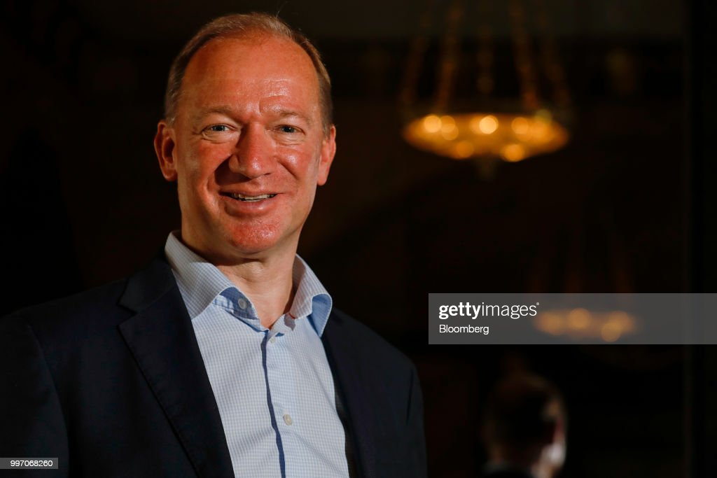 Mike Flewitt, chief executive officer of McLaren Automotive Ltd., poses for a photograph following a news conference at the Goodwood Festival of Speed near Chichester, U.K., on Thursday, July 12, 2018. Formula 1 race team and supercar makerMcLarenis aiming to win over wealthy drivers keen to prove themselves on the track with its latest model -- the 185,500-pound ($250,000) circuit-ready 600LT. Photographer: Luke MacGregor/Bloomberg via Getty Images