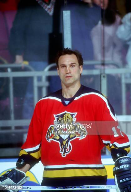 Mike Foligno of the Florida Panthers