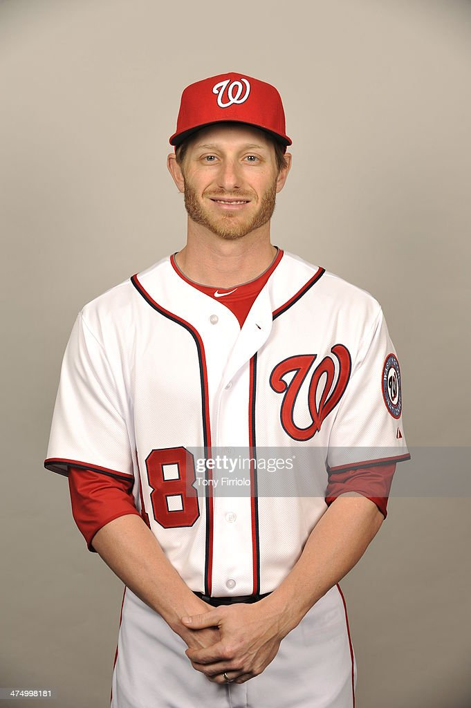 Mike Fontenot #18 of the Washington Nationals poses during Photo Day on February 23, 2014 at Space Coast Stadium in Viera, Florida.