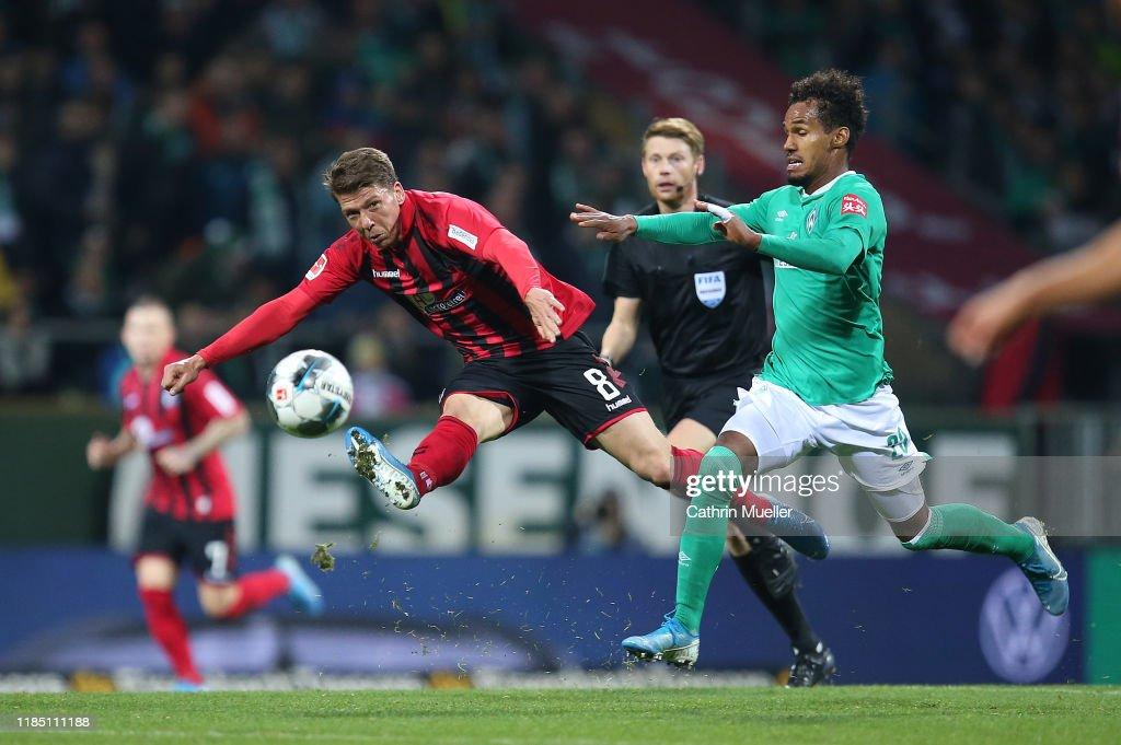 SV Werder Bremen v Sport-Club Freiburg - Bundesliga : News Photo