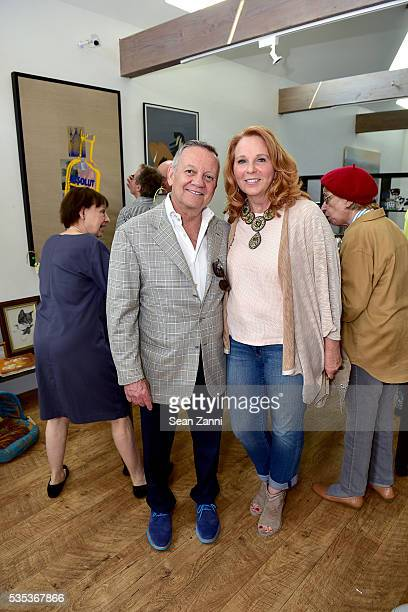 Mike Franzino and Pat Franzino attend Animal Rescue Fund of the Hamptons 6th Annual Thrift Shop Designer Showhouse at ARF Thrift Treasure Shop on May...