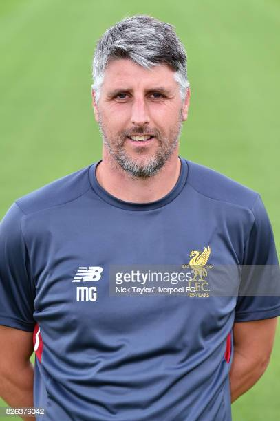 Mike Garrity of Liverpool poses at The Kirkby Academy on August 4 2017 in Kirkby England