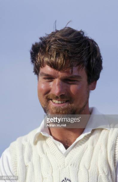 Mike Gatting of England during the Third Test Match between England and India held on July 4 1986 at Edgbaston in Birmingham England