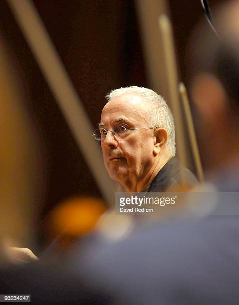 Mike Gibbs performs during the London Jazz Festival at The Barbican on November 19, 2009 in London, England.