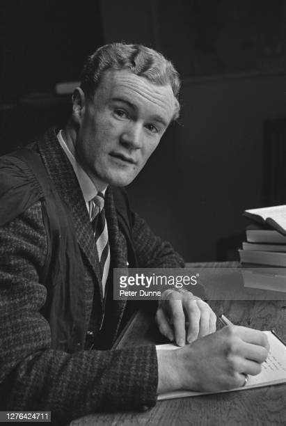 Mike Gibson, a student at Cambridge University and British Lions rugby player, UK, 26th May 1966.