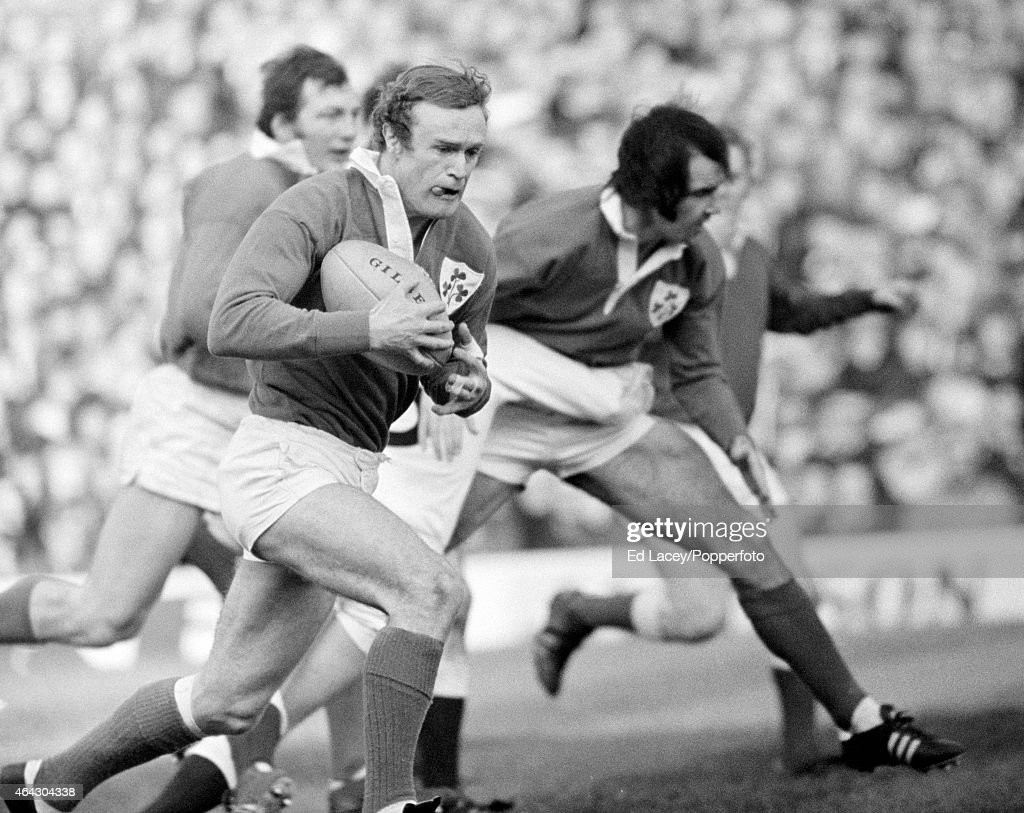 Mike Gibson - Ireland Rugby Union : News Photo
