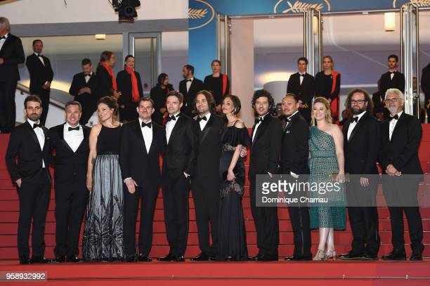 Mike Gioulakis Jake Weiner Adele Romanski Chris Bender Topher Grace director David Robert Mithcell Annie Mitchell Rich Vreeland Alan Pao Lucy Kitada...