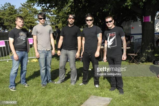 Mike Glita, Garrett Zablocki, Heath Saraceno, Dan Trapp, Buddy Nielson from Senses Fail