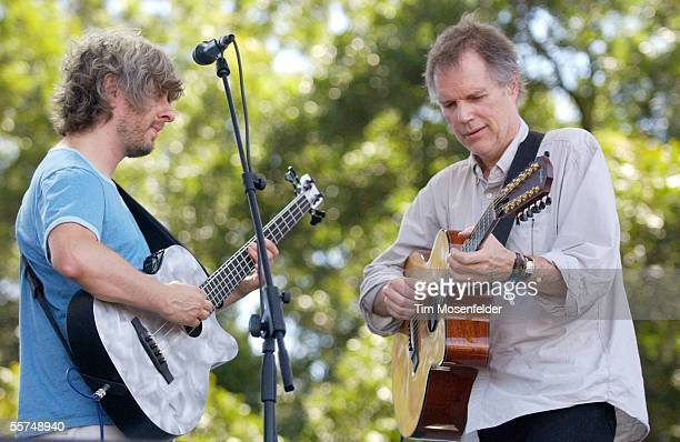 Mike Gordon and Leo Kottke perform at Zilker Park as part of the Austin City Limits Music Festival on September 23 2005 in Austin Texas