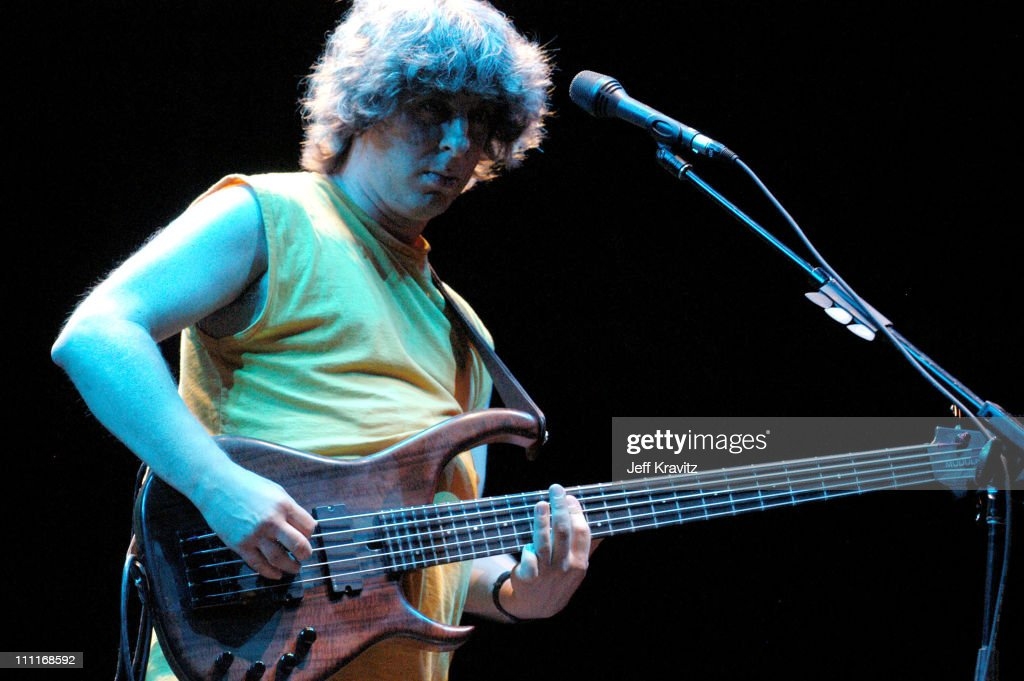 Mike Gordon during Phish IT Festival Day 2 at Loring Airforce Base in Limestone, Maine, United States.