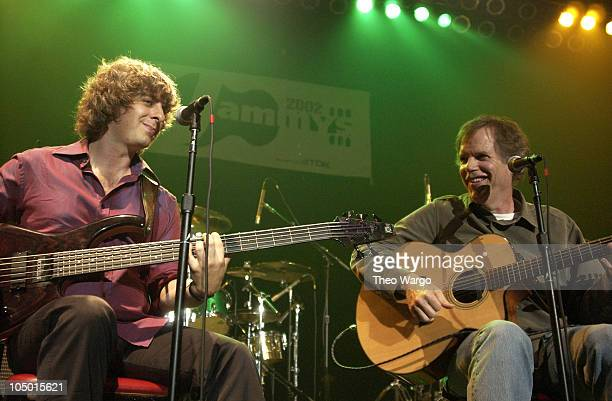 Mike Gordon of Phish and Leo Kottke during 2002 Jammy Awards Presented By TDK at Roseland in New York City New York United States