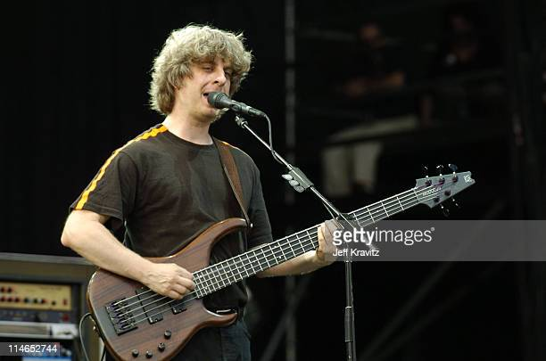 Mike Gordon of Phish during Phish Coventry Festival 2004 Day 2 at Coventry in Newport Vermont United States